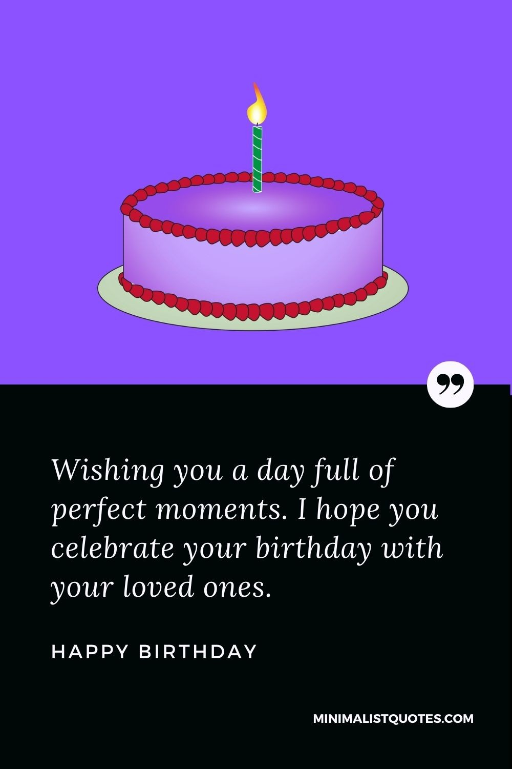 Happy Birthday Wish - Birthdays are the best time to share your life experience, cherish past memories& celebrate your achievement.