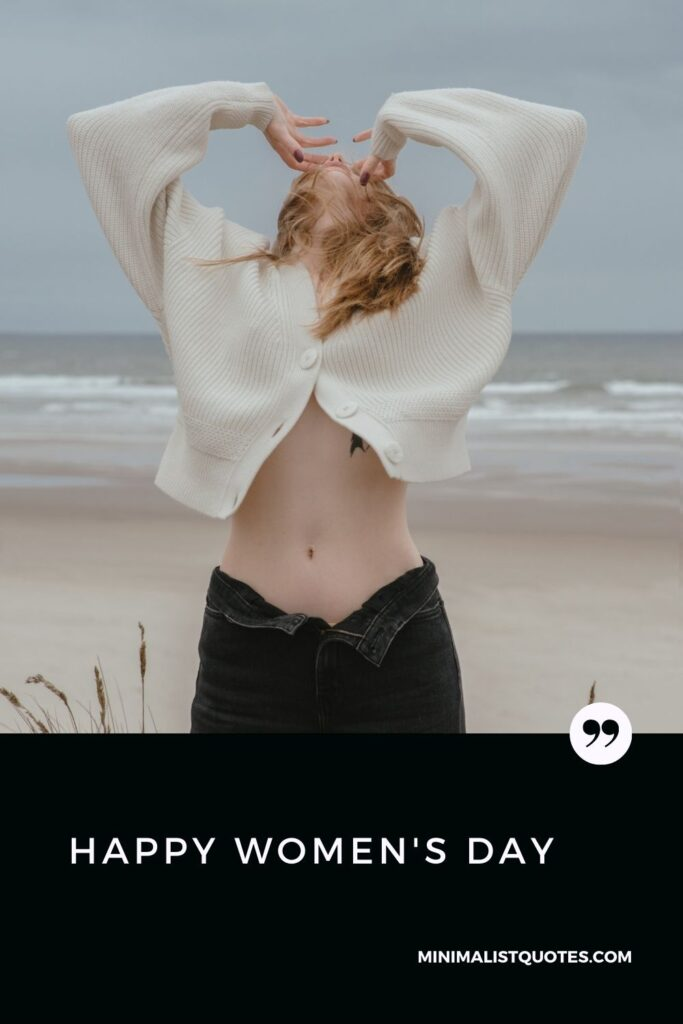Happy Women's Day Wish & Message With HD Image #strongwoman