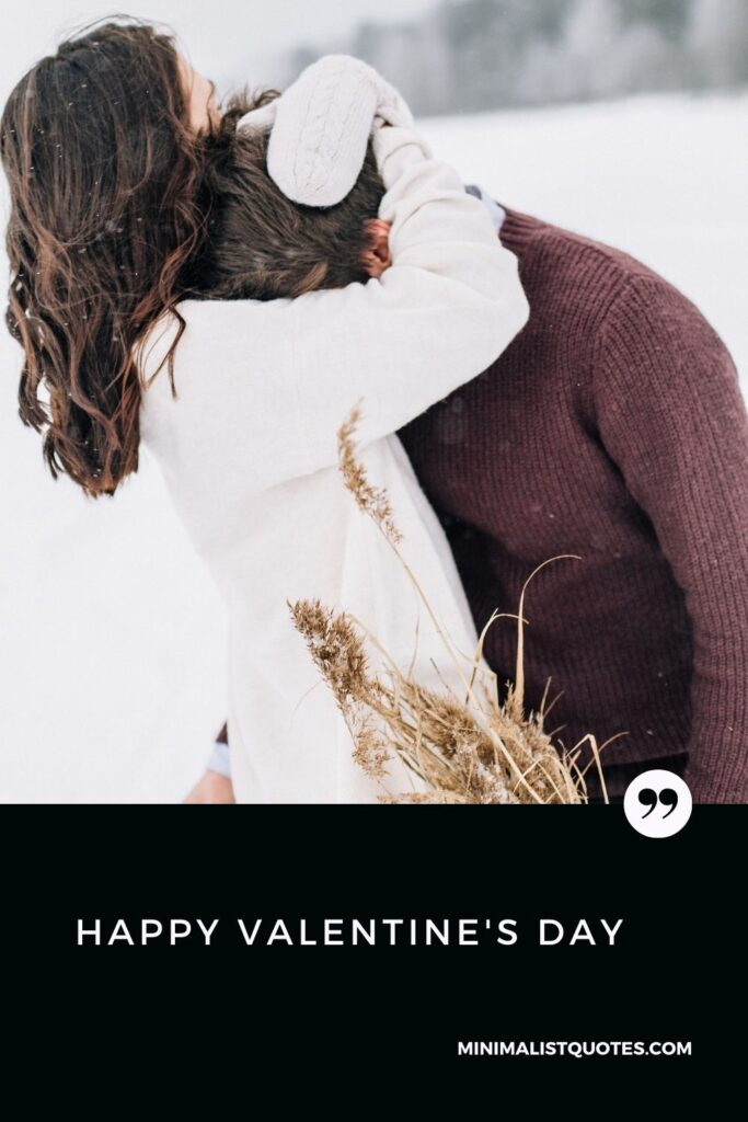 Happy Valentine's Day Wish & HD Digital Card Image: Happy Valentine's Day! #couplehug