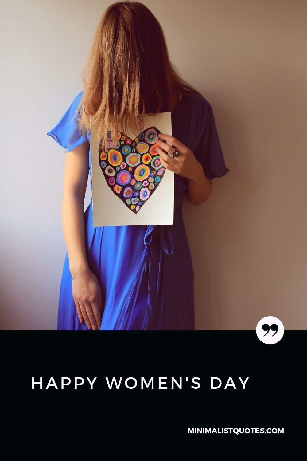 Happy Women's Day Wish & Message With HD Image #heart