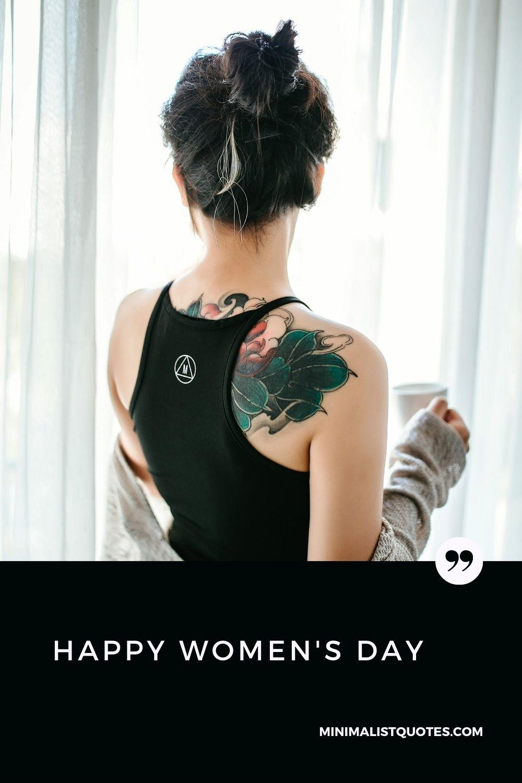 Happy Women's Day Wish & Poster #tattoo