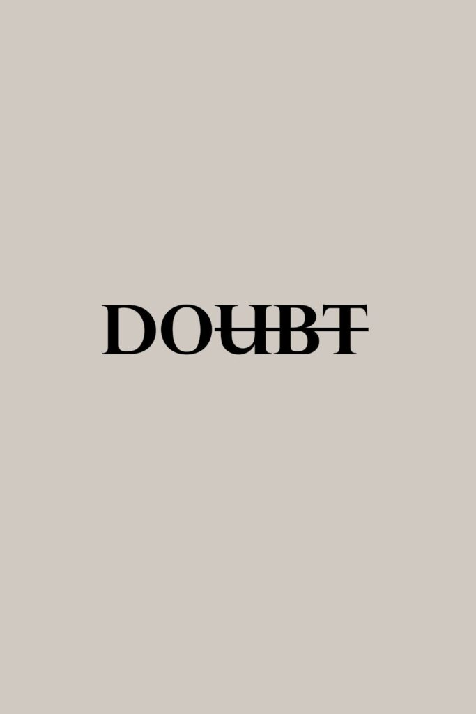 Monday Motivation Quote & Message with Image: No doubt, Just do. Happy Monday!