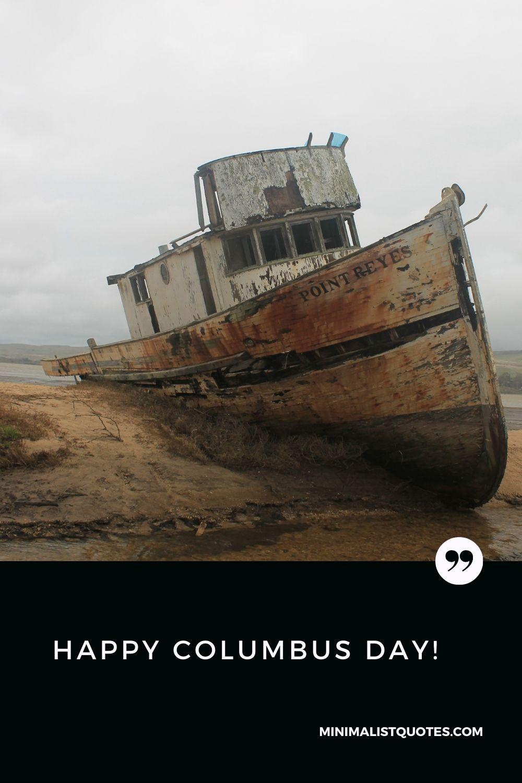 Happy Columbus Day wish: #ship image