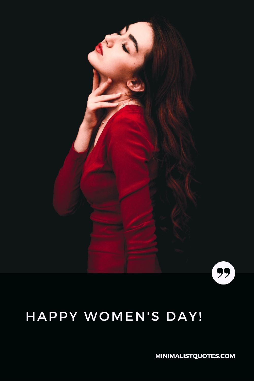 Happy Womens Day! Image & Card: #selflove